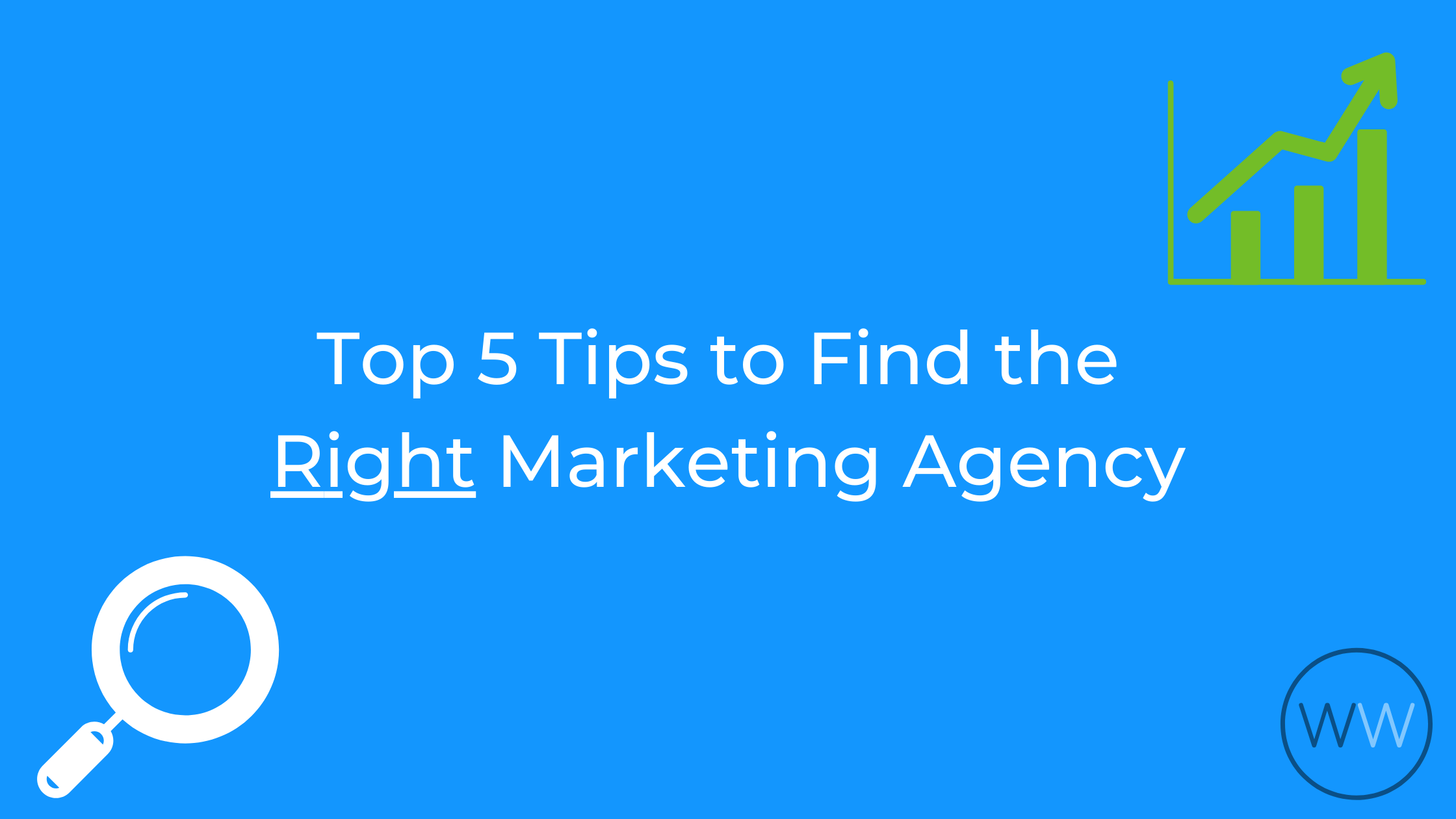 finding the right marketing agency